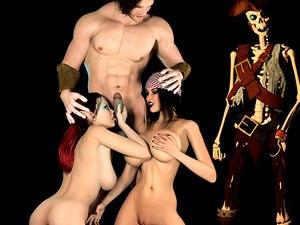 Pirate jessica ungeheuer fetisch xxx spiel