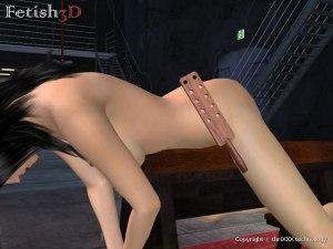 Sklaven arsch spank